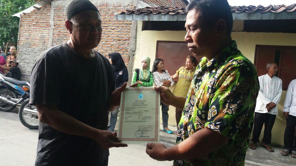 penyerahan besuk kiamat kelurahan kadipiro 3