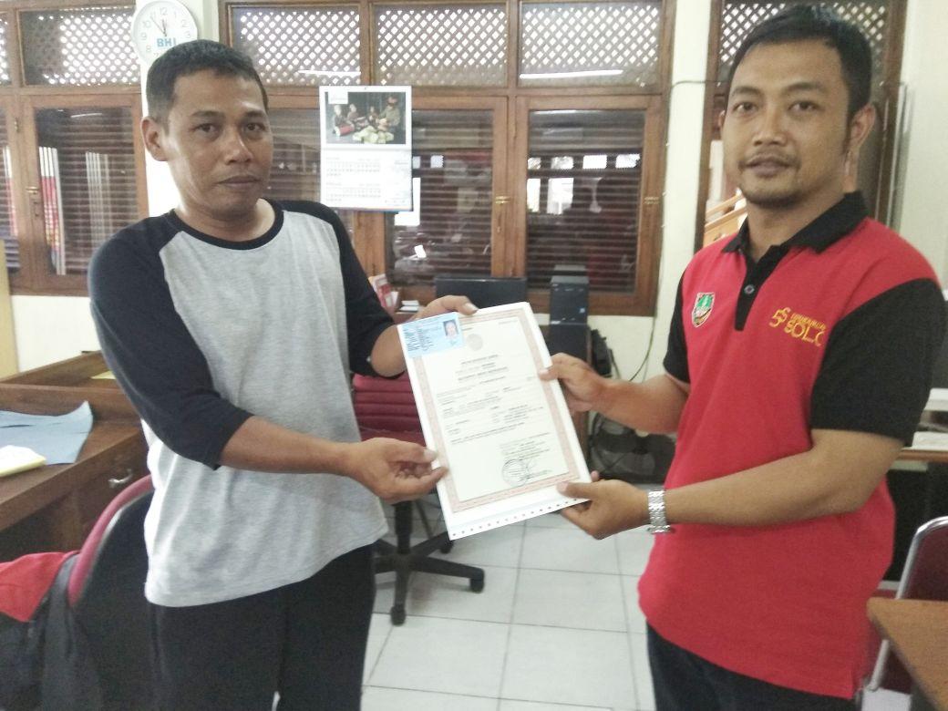 penyerahan besuk kiamat kelurahan kadipiro