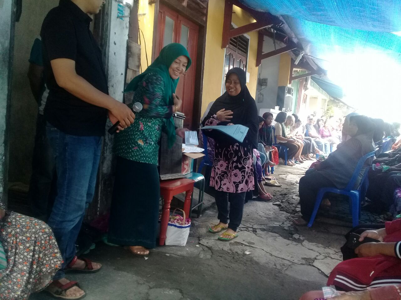 penyerahan besuk kiamat kelurahan serengan 6