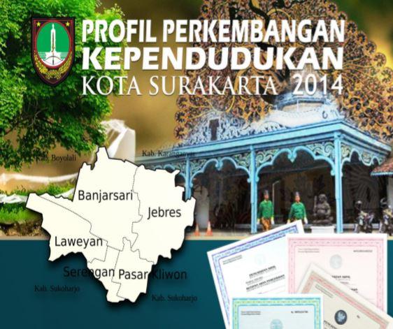 Buku Profil Perkembangan Penduduk Surakarta tahun 2014