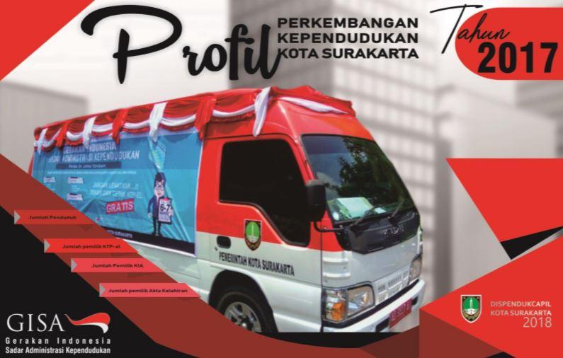 Buku Profil Perkembangan Penduduk Surakarta tahun 2017